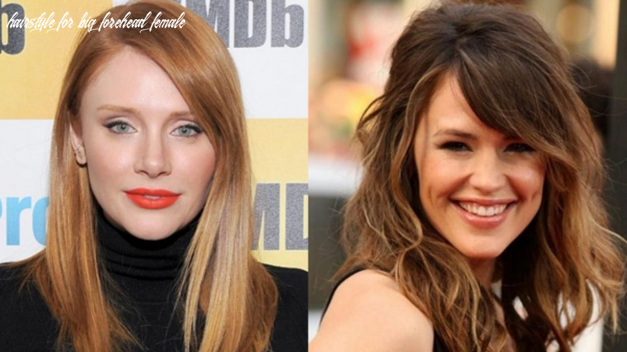 12 amazing hairstyles for big foreheads – learn how to hide