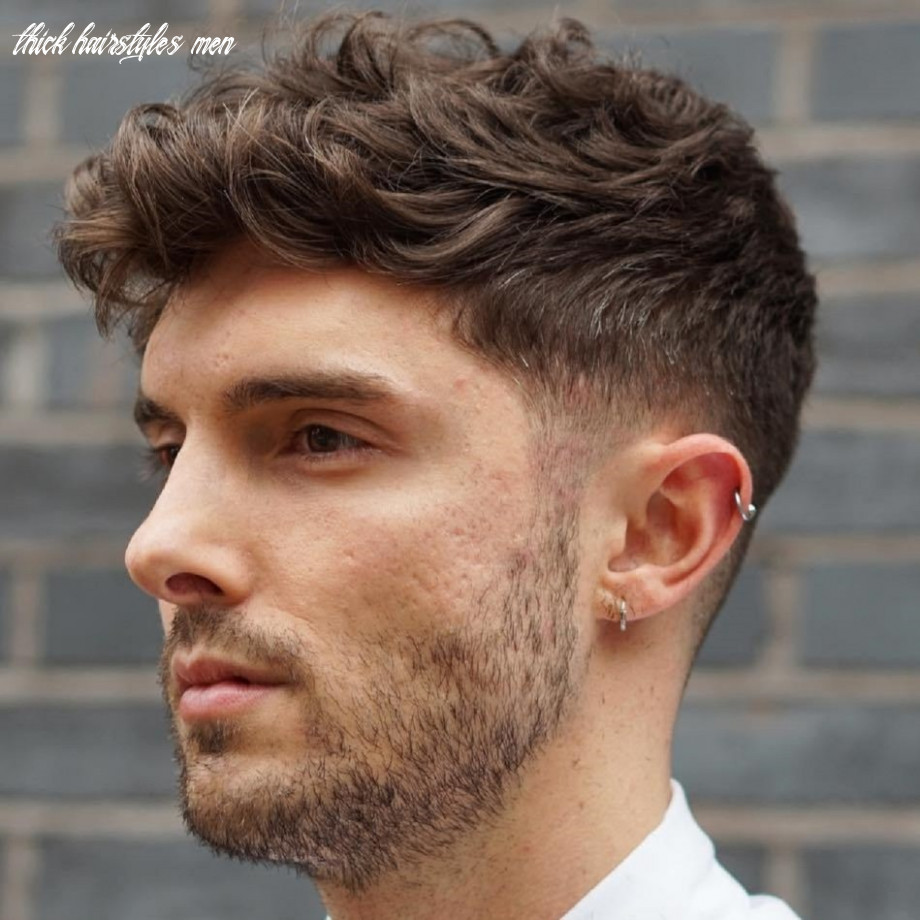 12 statement hairstyles for men with thick hair thick hairstyles men
