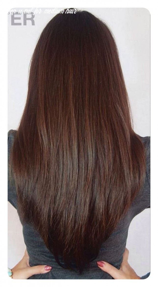 12 v cut and u cut hairstyles to give you the right angle deep u cut for medium hair