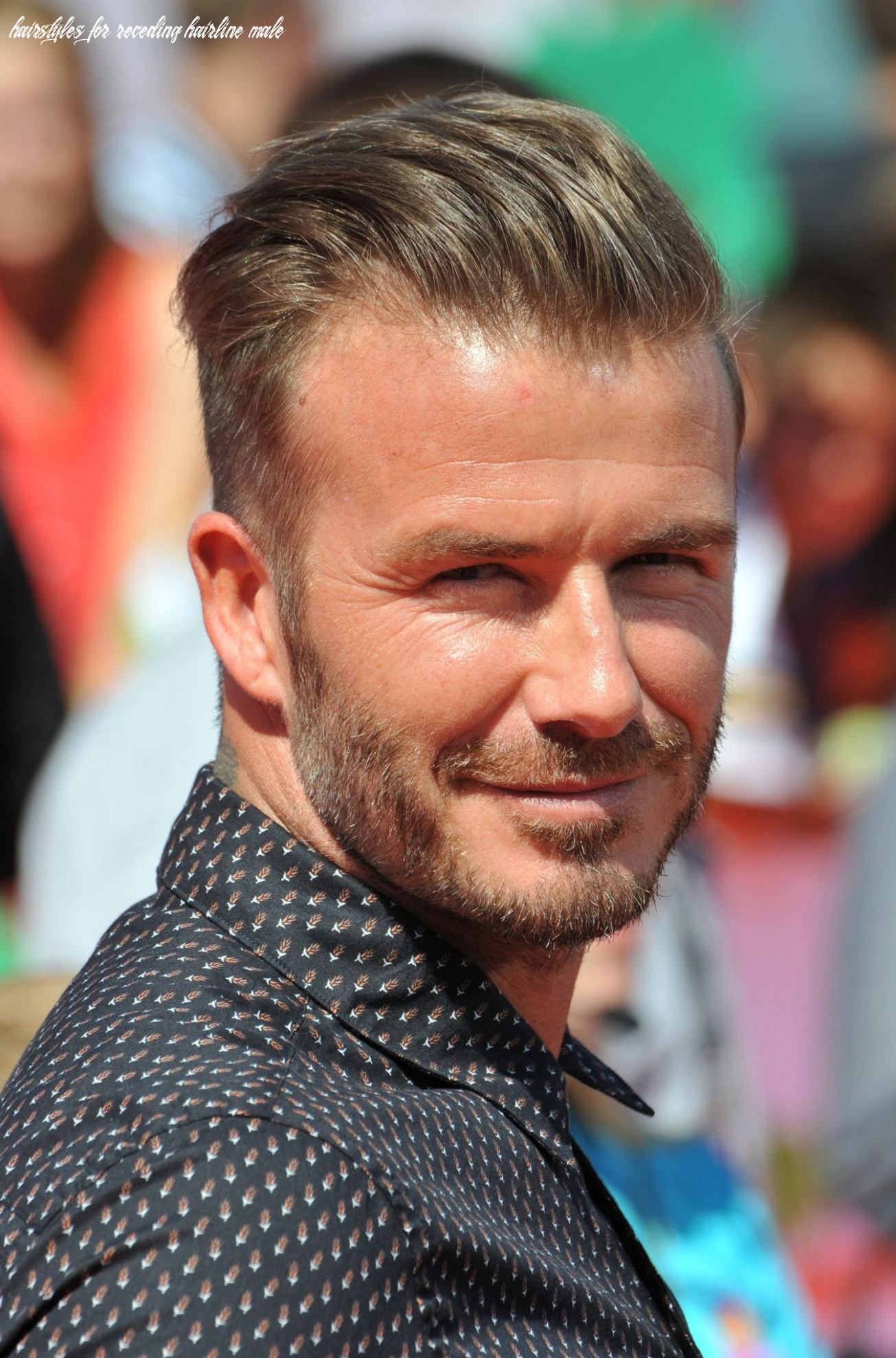 8 best hairstyles for a receding hairline (extended) hairstyles for receding hairline male