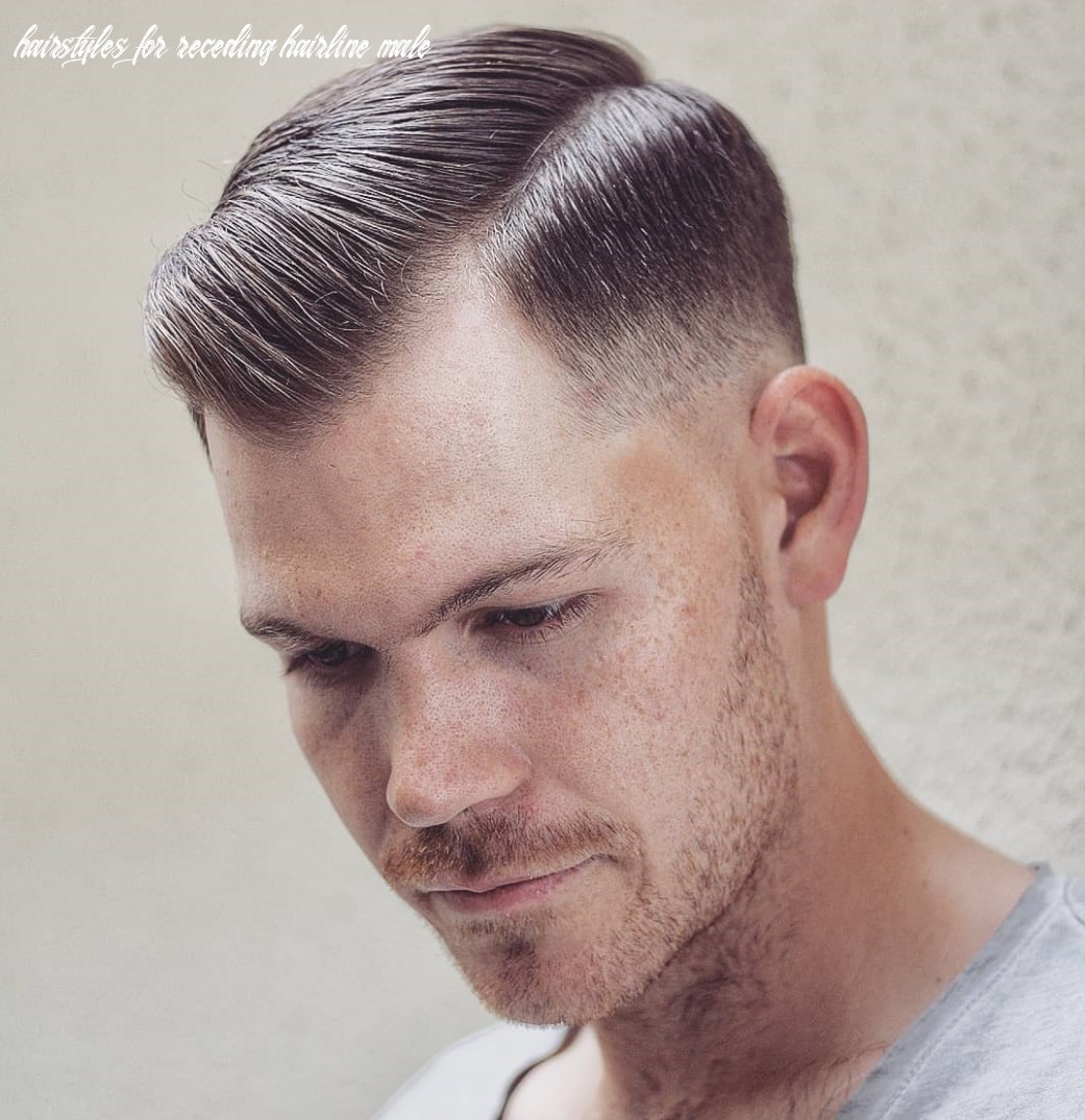 8 classy haircuts and hairstyles for balding men hairstyles for receding hairline male