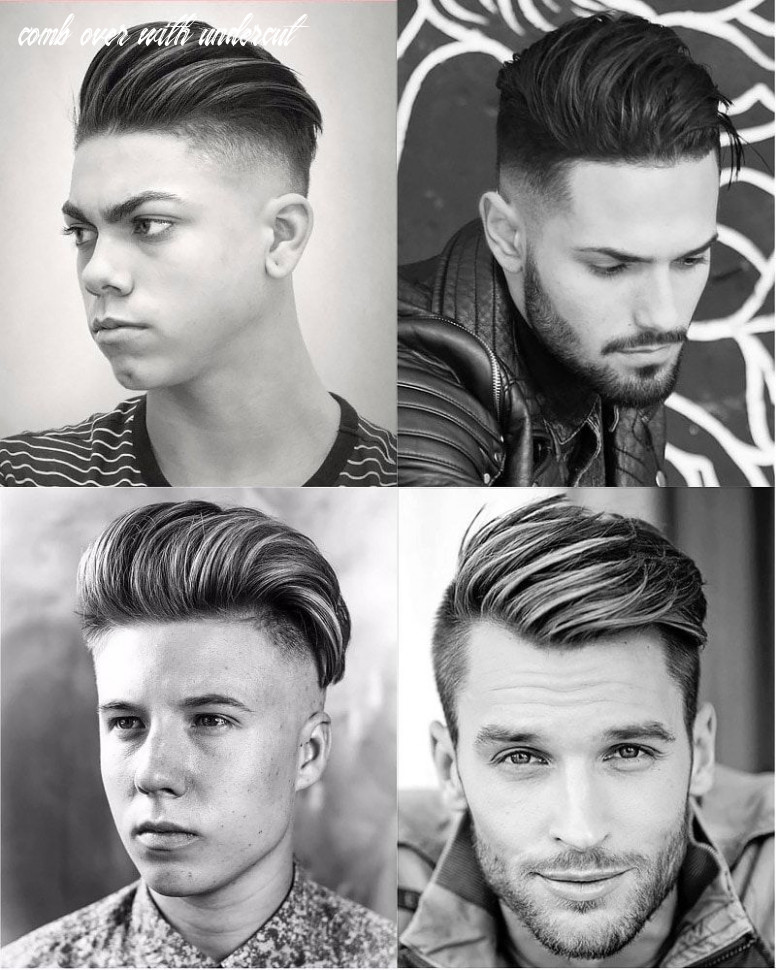 8 perfect comb over haircuts for men   comb over haircut comb over with undercut