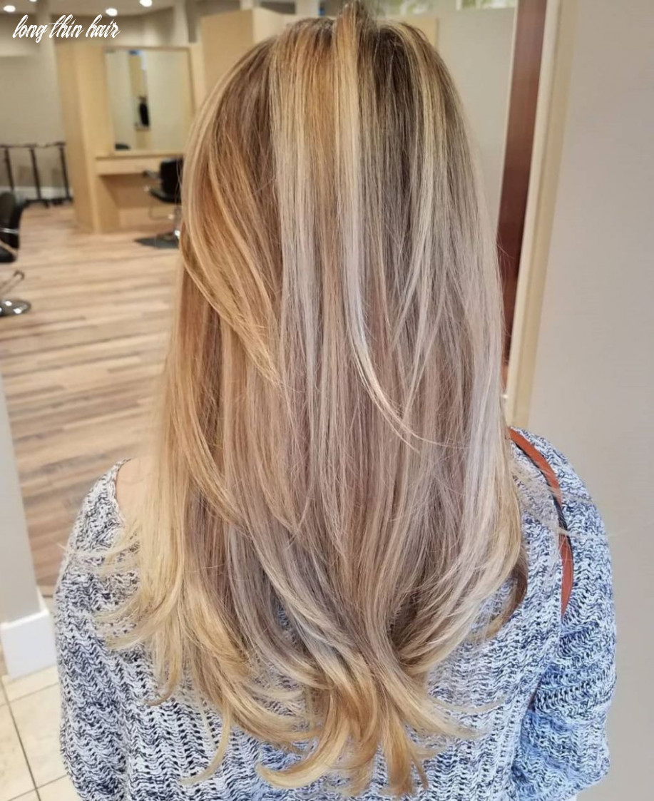8 picture perfect hairstyles for long thin hair (with images