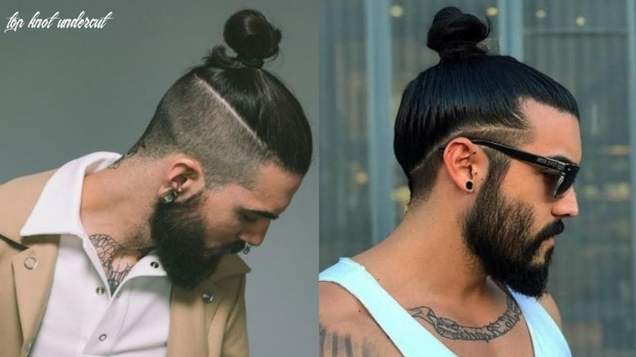 Best man bun hairstyles for men 10 | top knot hairstyles for men