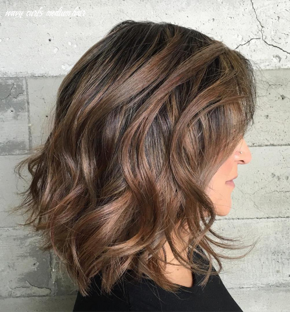 Curly haircuts for wavy and curly hair (best ideas for 12) wavy curls medium hair