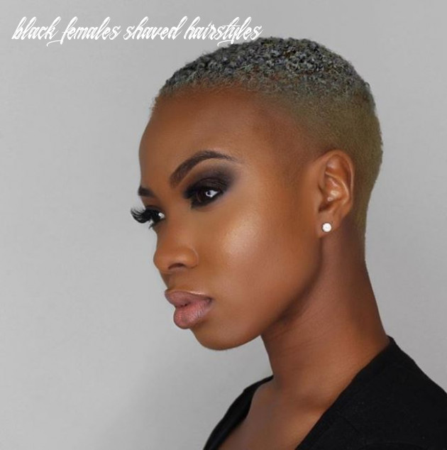 Fierce and fabulous shaved hairstyles for black women black females shaved hairstyles