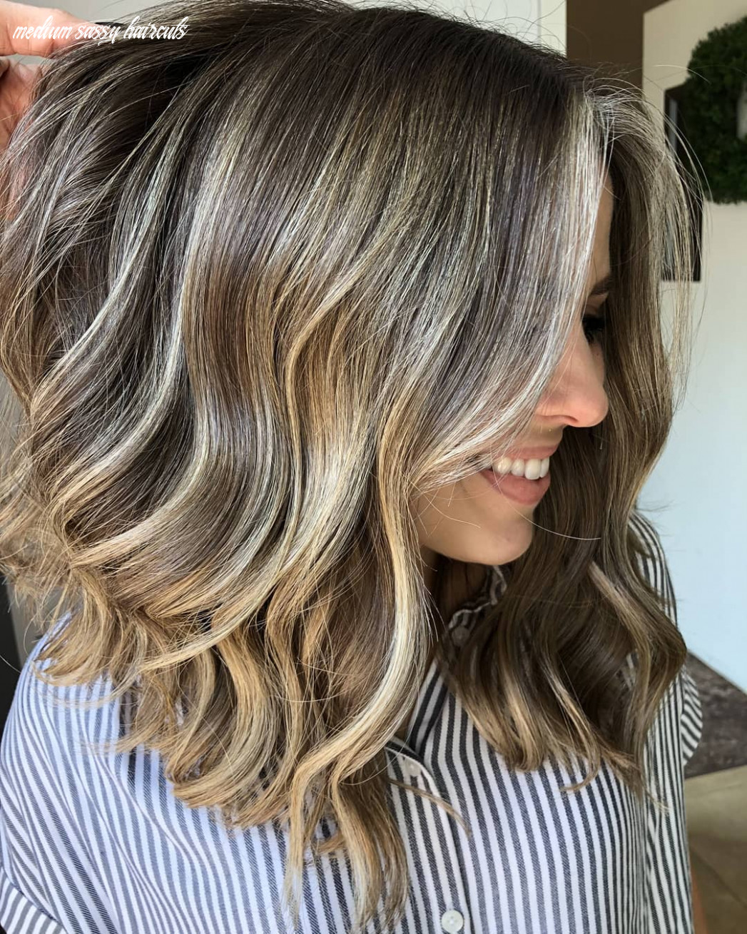 Gorgeous medium hair style for all hair type | worldhairtrends