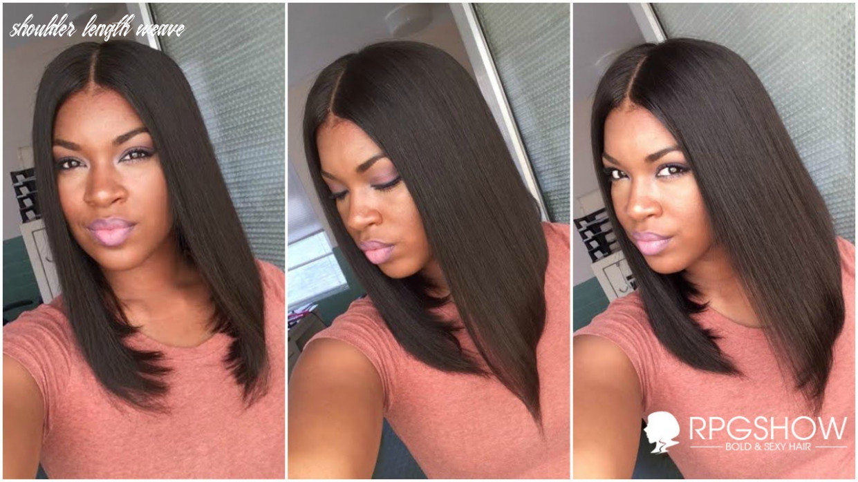 How to get natural looking on shoulder length rpgshow bob |ashanti inspired full lace wig shoulder length weave
