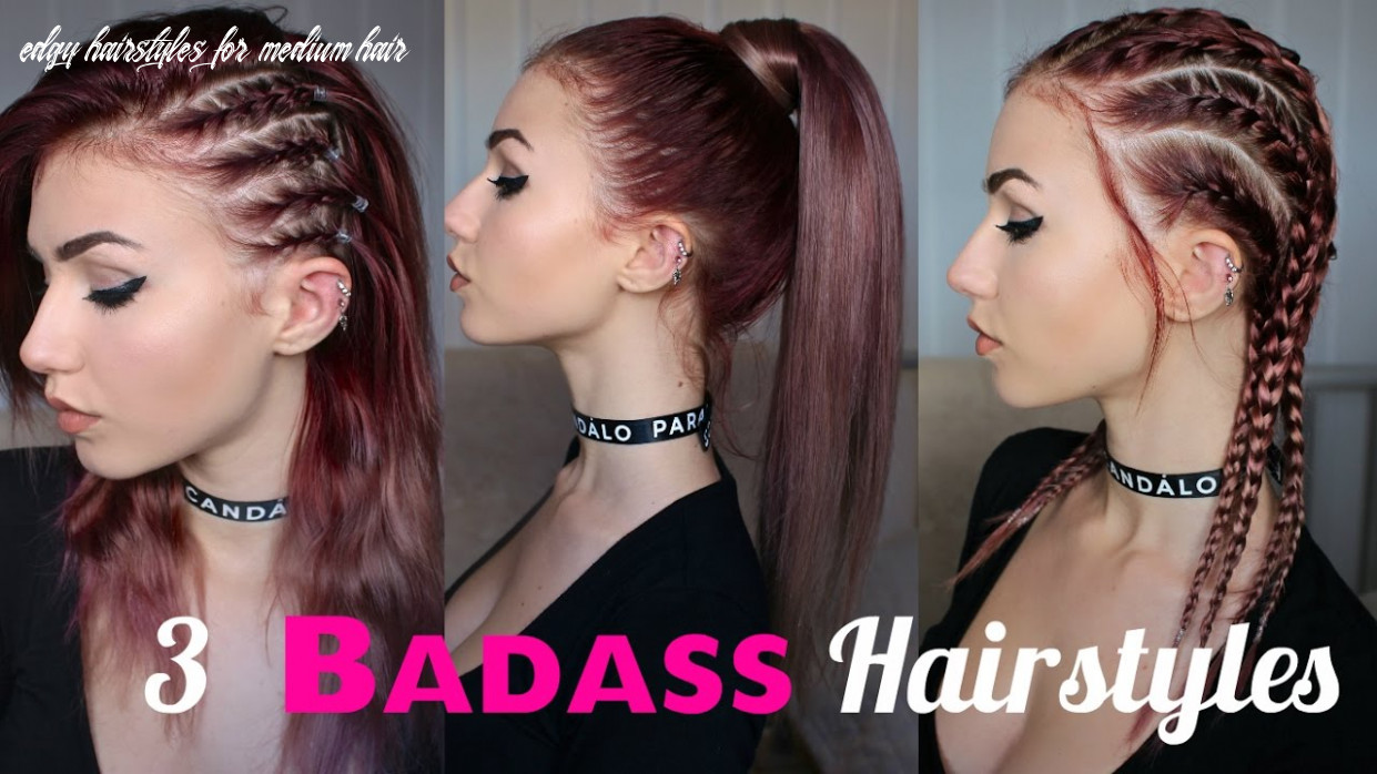 How to look edgy | 10 seriously badass hairstyles | stella edgy hairstyles for medium hair