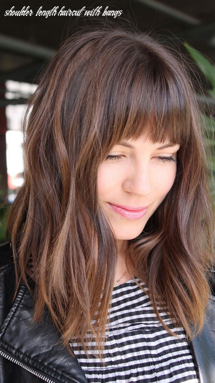 Pin on daddy shoulder length haircut with bangs