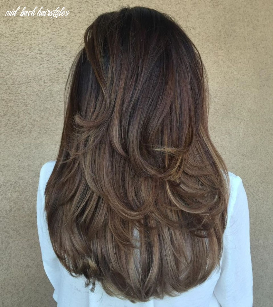 Pin on hair and nails mid back hairstyles