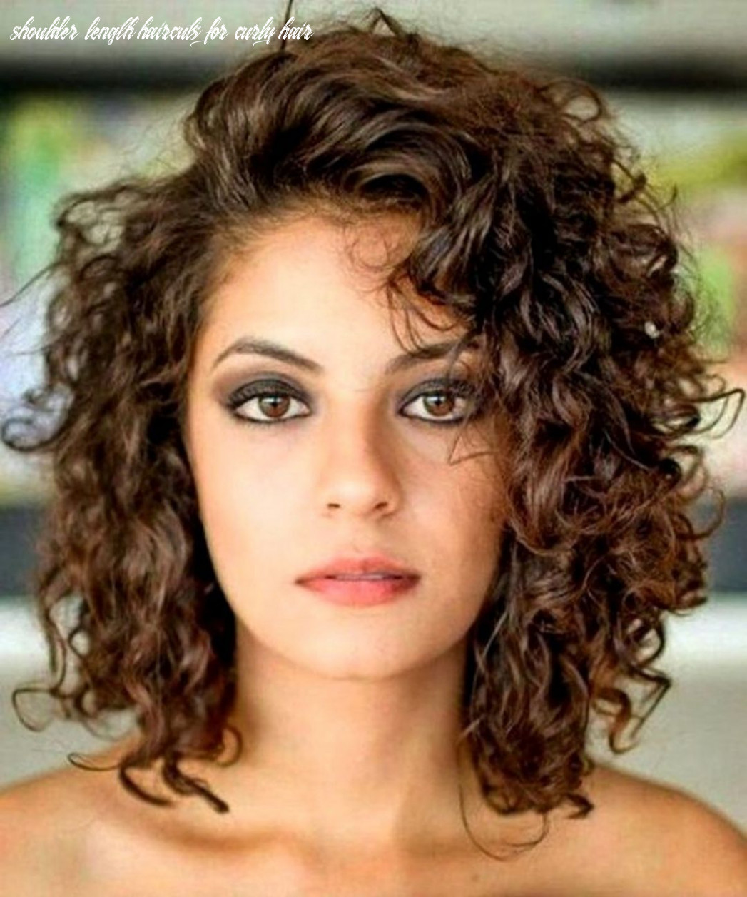Pin on hairstyles shoulder length haircuts for curly hair