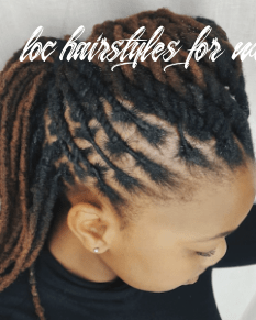 Professional hairstyles for women with locs | curlynugrowth loc hairstyles for women