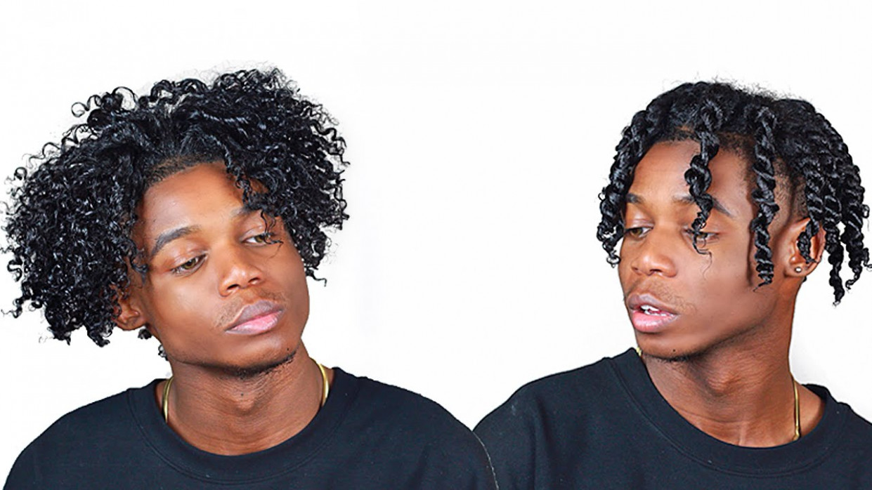 Quick n easy twist out routine (guys & girls) twist out men