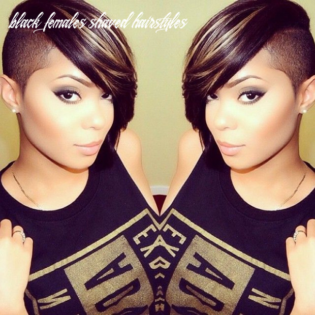 Shaved hairstyle ideas for black women   shaved side hairstyles