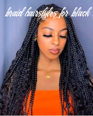 10 amazing and artistic braided hairstyles for black girl for