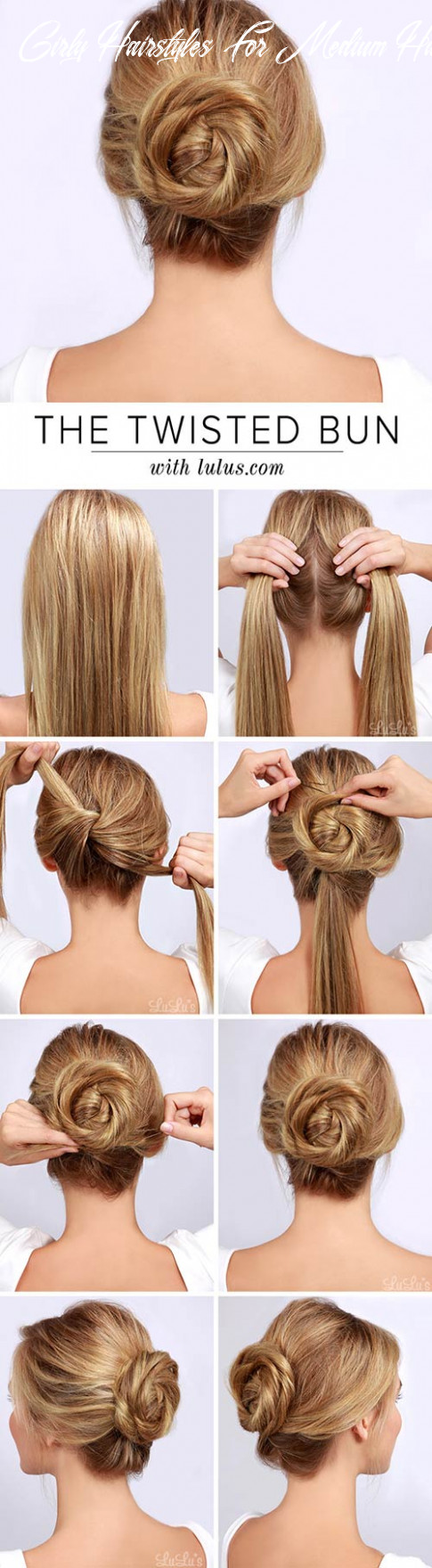 10 awesome hairstyles for girls with long hair girly hairstyles for medium hair
