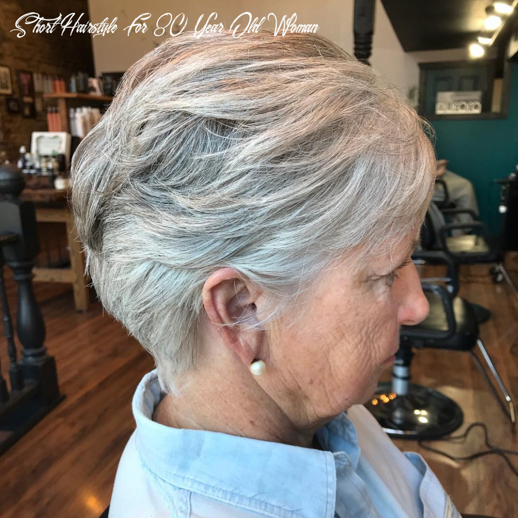 10 best looking hairstyles for women over 10 hair adviser short hairstyle for 80 year old woman