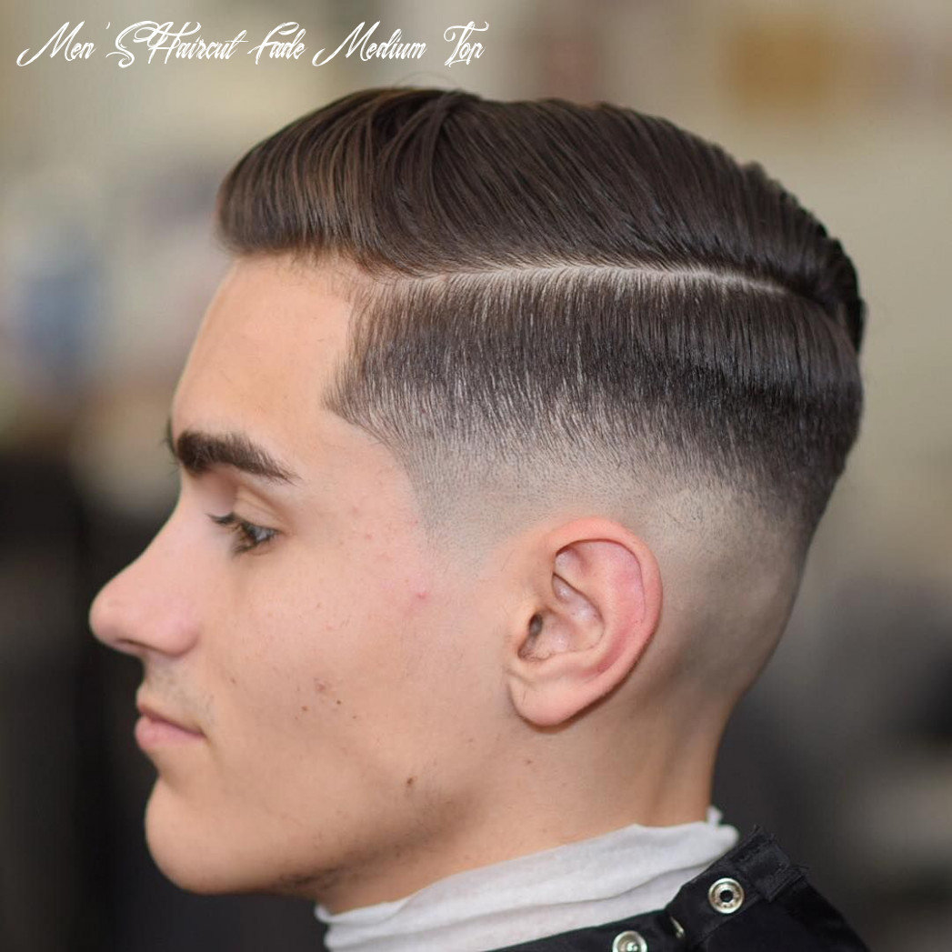 10 best medium fade haircuts [amp up the style in 10]   mid