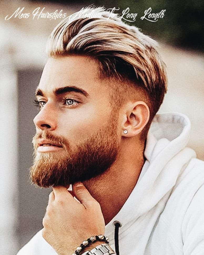 10 best medium length haircuts for men and how to style them mens hairstyles medium to long length
