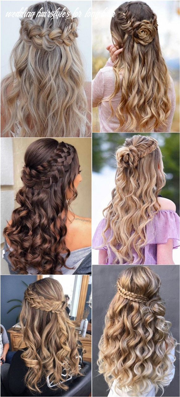 10 braided wedding hairstyles for long hair oh the wedding day