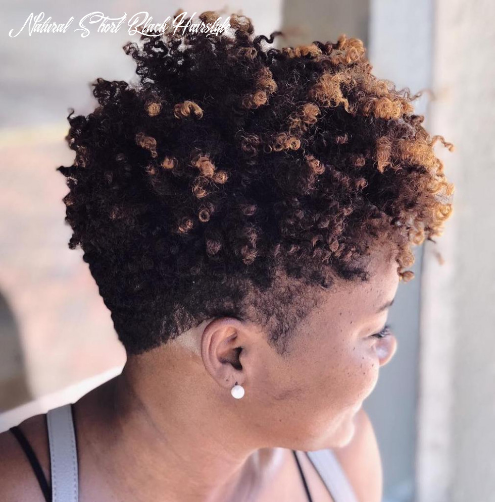 10 breathtaking hairstyles for short natural hair hair adviser natural short black hairstyle