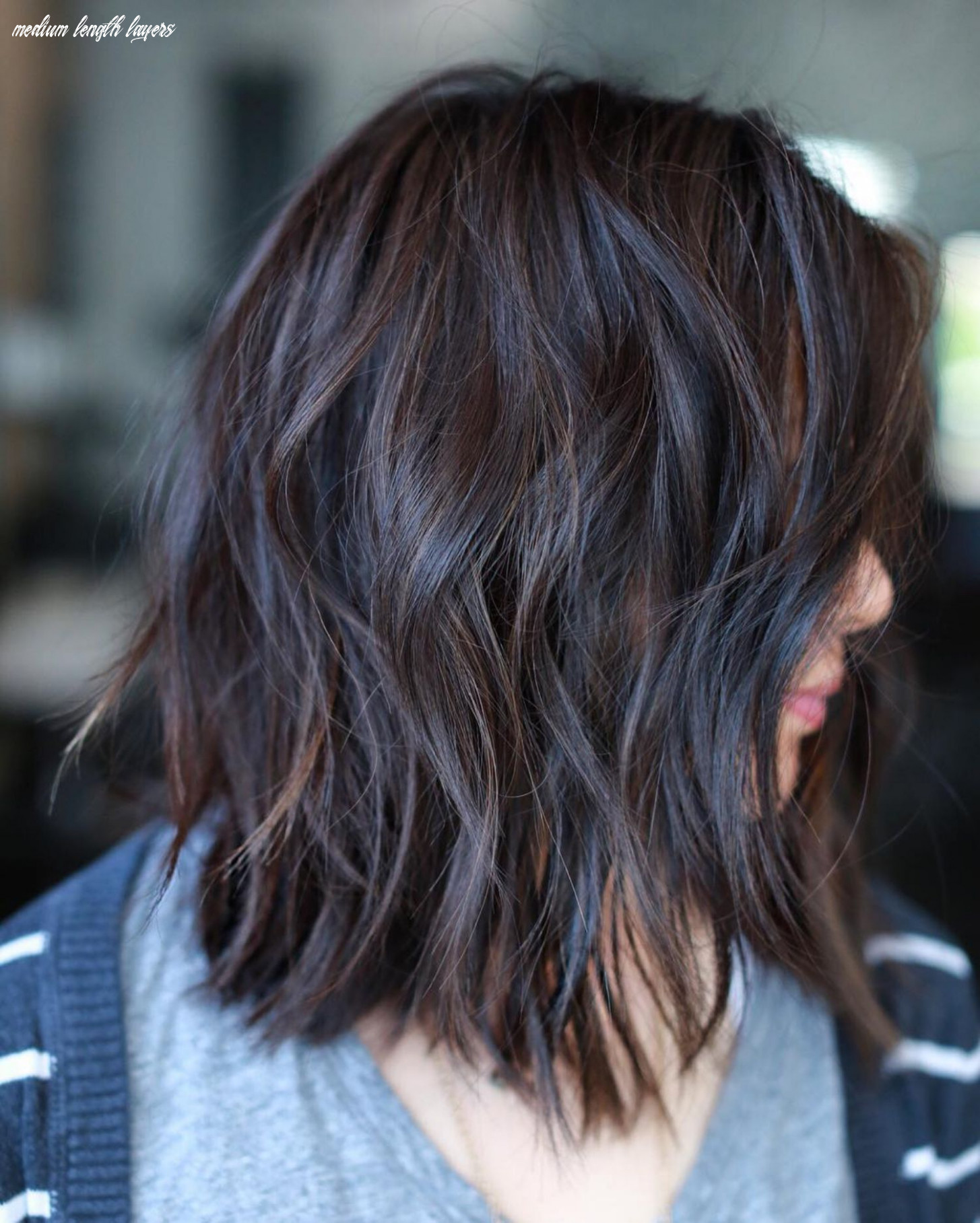10 brightest medium layered haircuts to light you up   layered