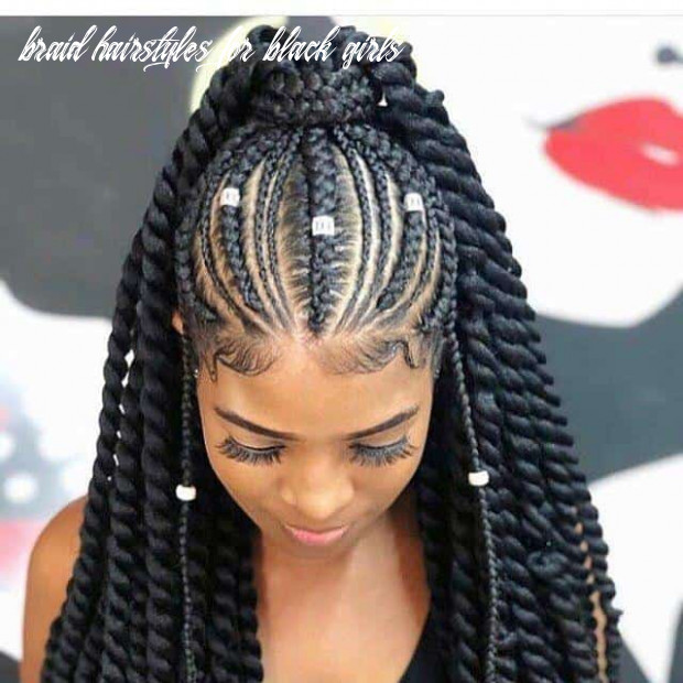 10 captivating braided hairstyles for black girls (10) braid hairstyles for black girls