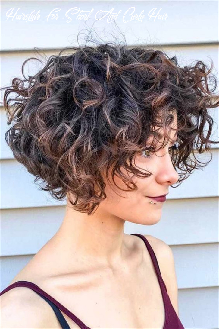 10 chic short curly hairstyles to make you look cool chic hostess hairstyle for short and curly hair