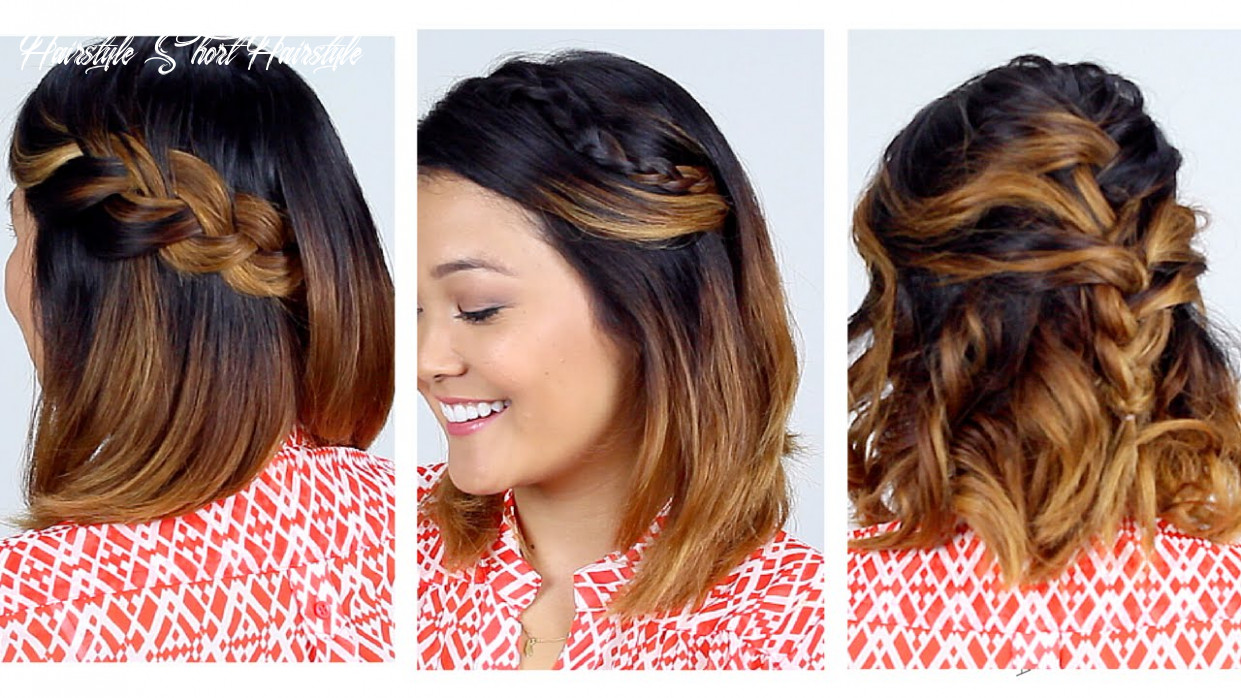 10 easy short hair hairstyles!! hairstyle short hairstyle