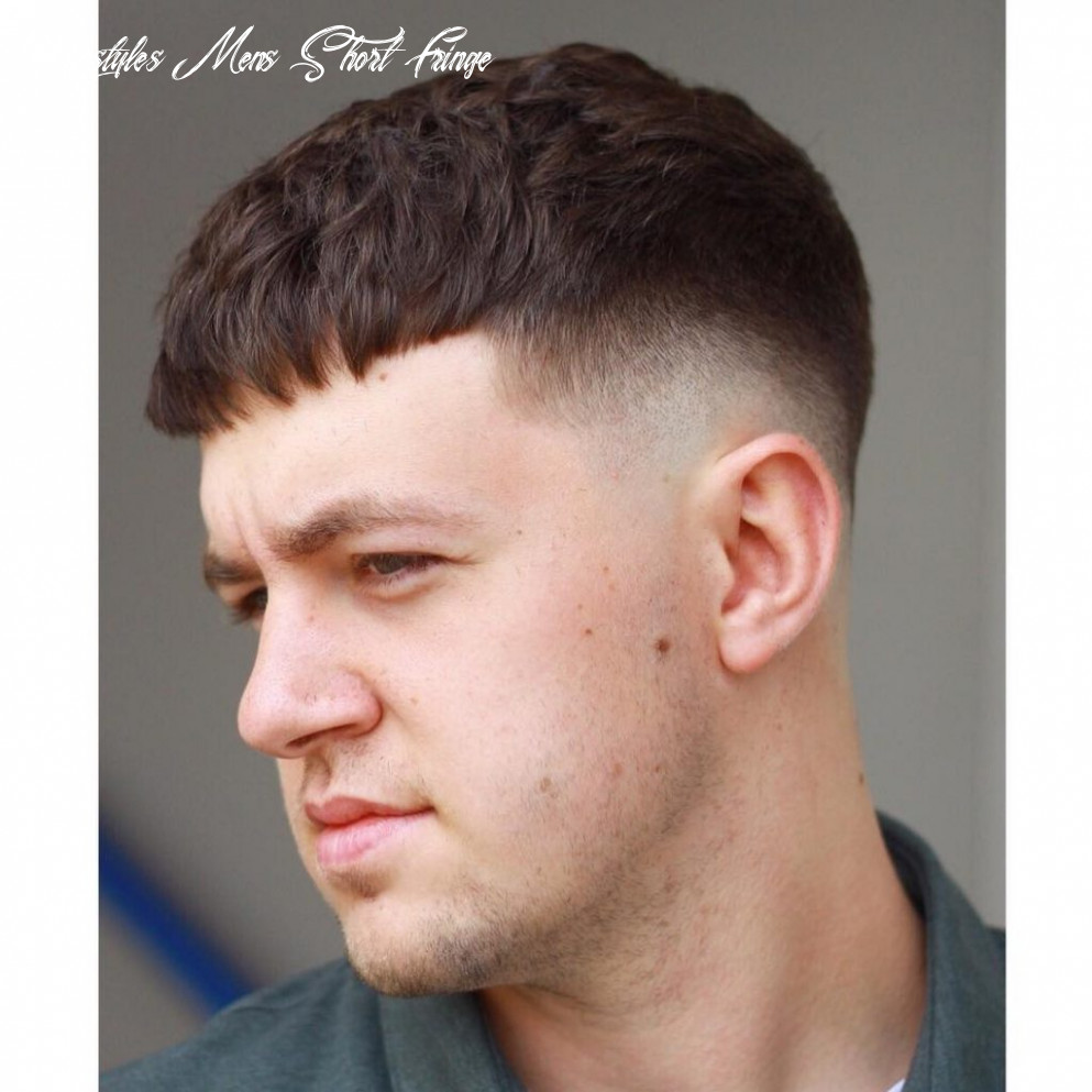 10 fringe haircuts for men > all the styles for 10 hairstyles mens short fringe