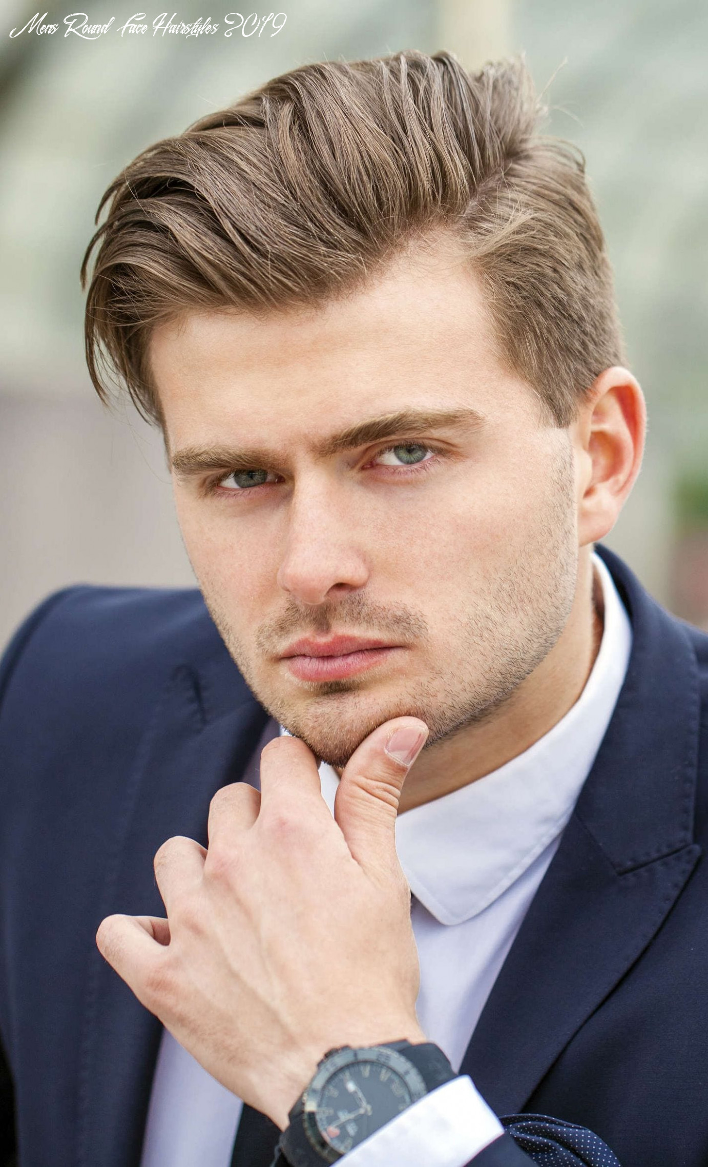 10 selected haircuts for guys with round faces mens round face hairstyles 2019