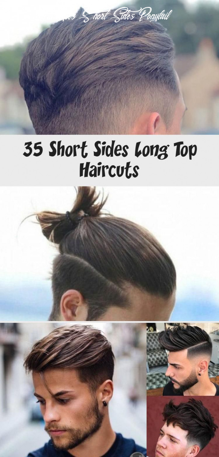 10 short sides long top haircuts in 10 | long hair on top, short