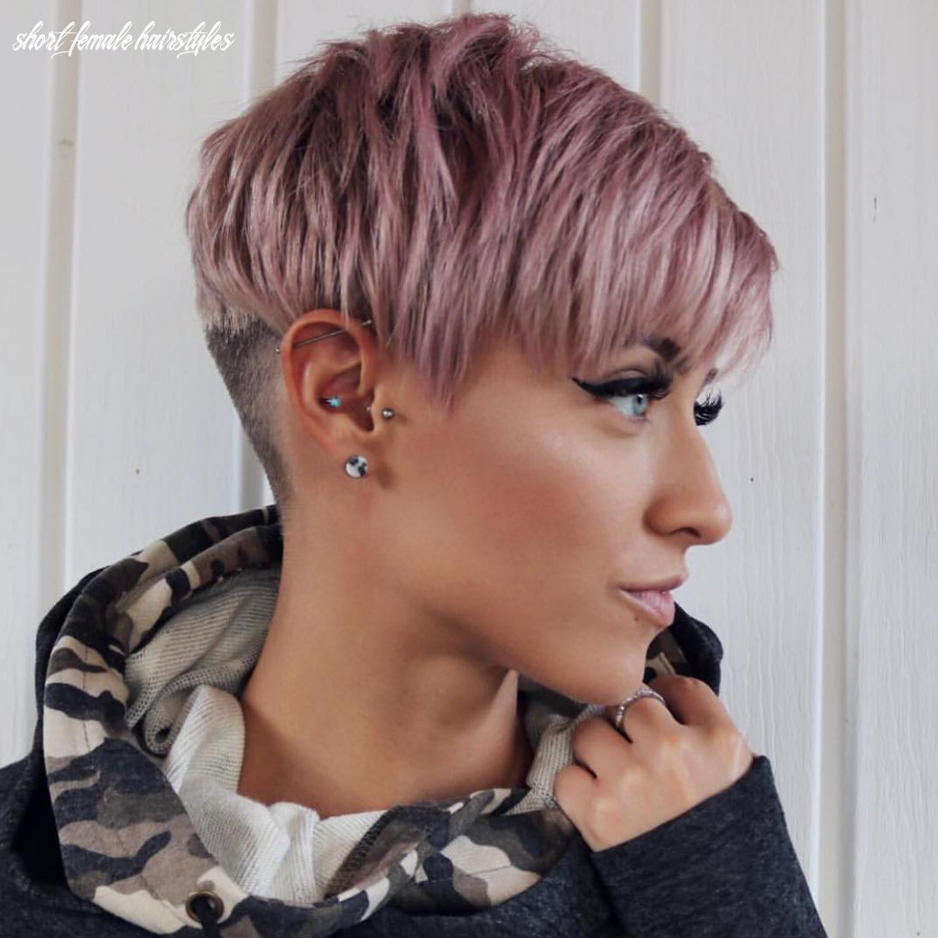 10 trendy very short haircuts for female, cool short hair styles 10 short female hairstyles