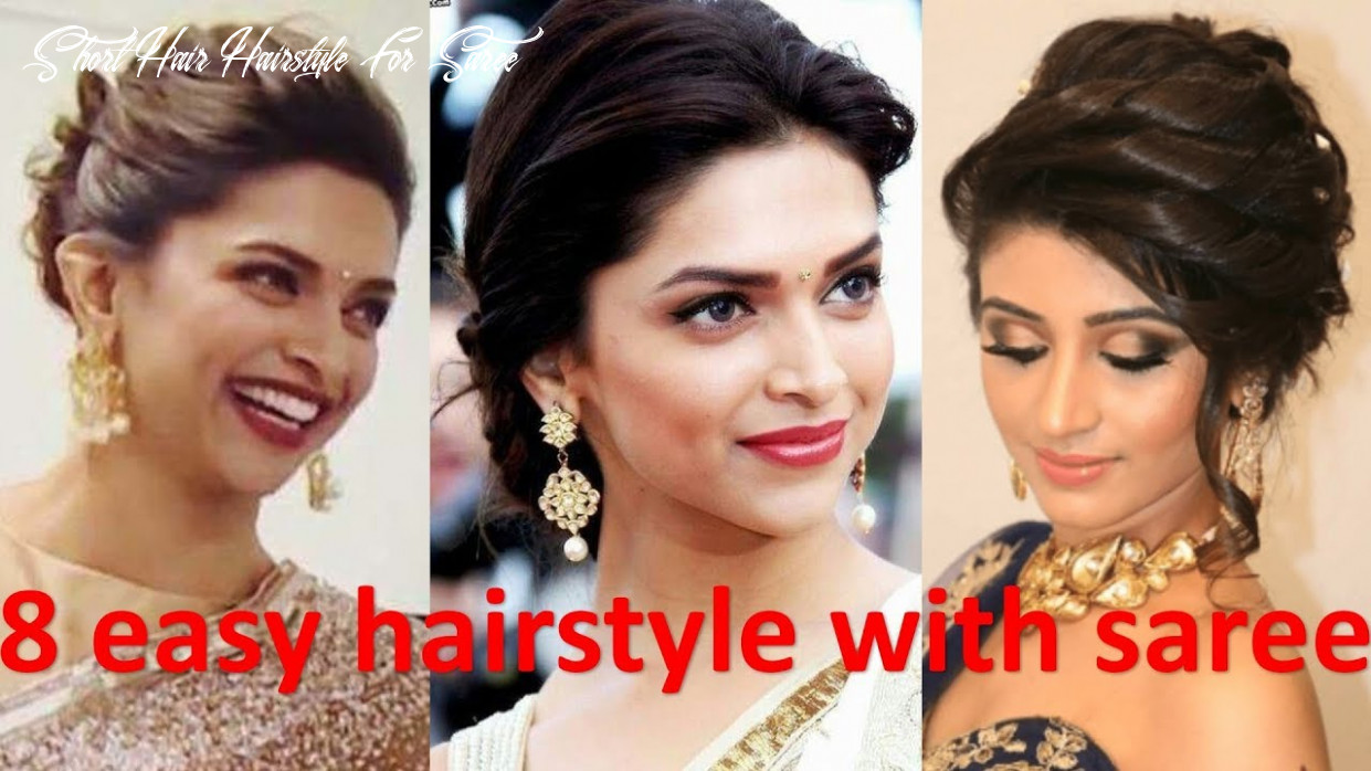 10 unique & different hairstyle with saree | french bun hairstyle | bridal hairstyle | new hairstyle short hair hairstyle for saree
