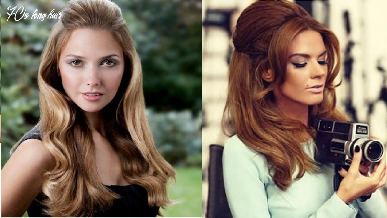 10s hairstyle for long hair 70s long hair
