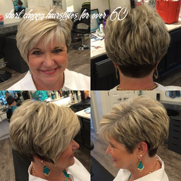 11 age defying hairstyles for women over 11 hair adviser short choppy hairstyles for over 60