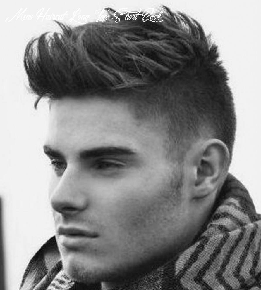 11 common misconceptions about mens haircut short sides long top