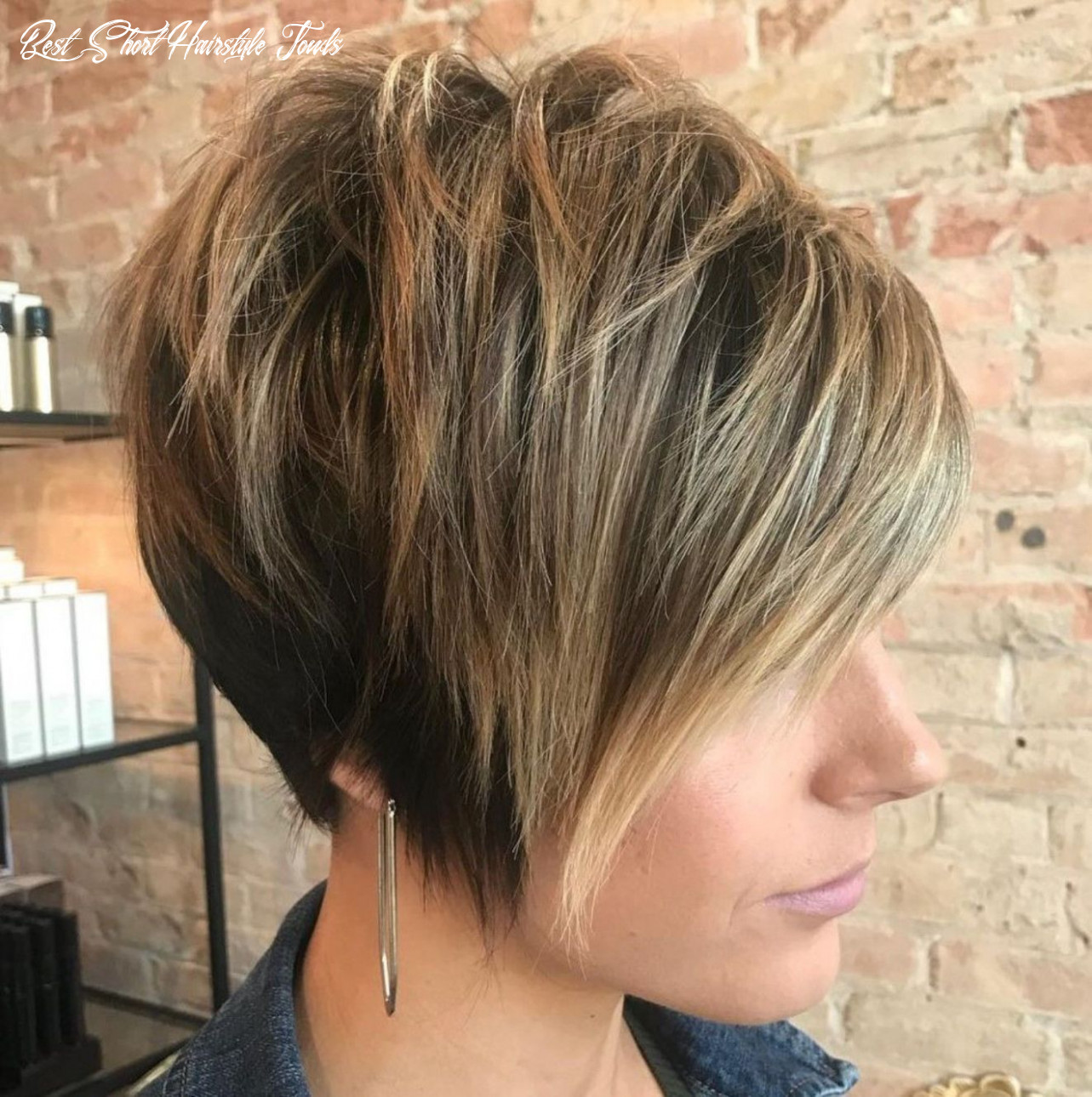 11 cute and easy to style short layered hairstyles   short