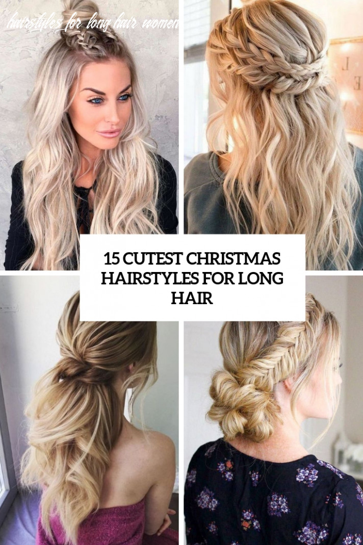 11 cutest christmas hairstyles for long hair styleoholic hairstyles for long hair women