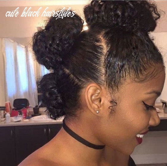 11 gorgeous natural hairstyles for black women (quick, cute & easy) cute black hairstyles