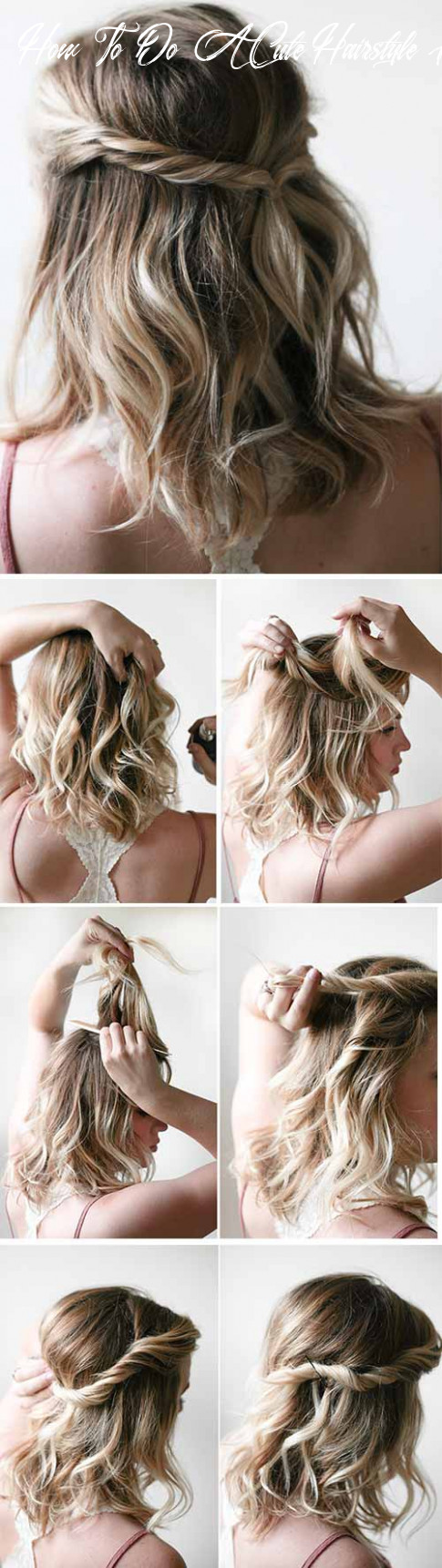 11 incredible diy short hairstyles a step by step guide how to do a cute hairstyle for short hair