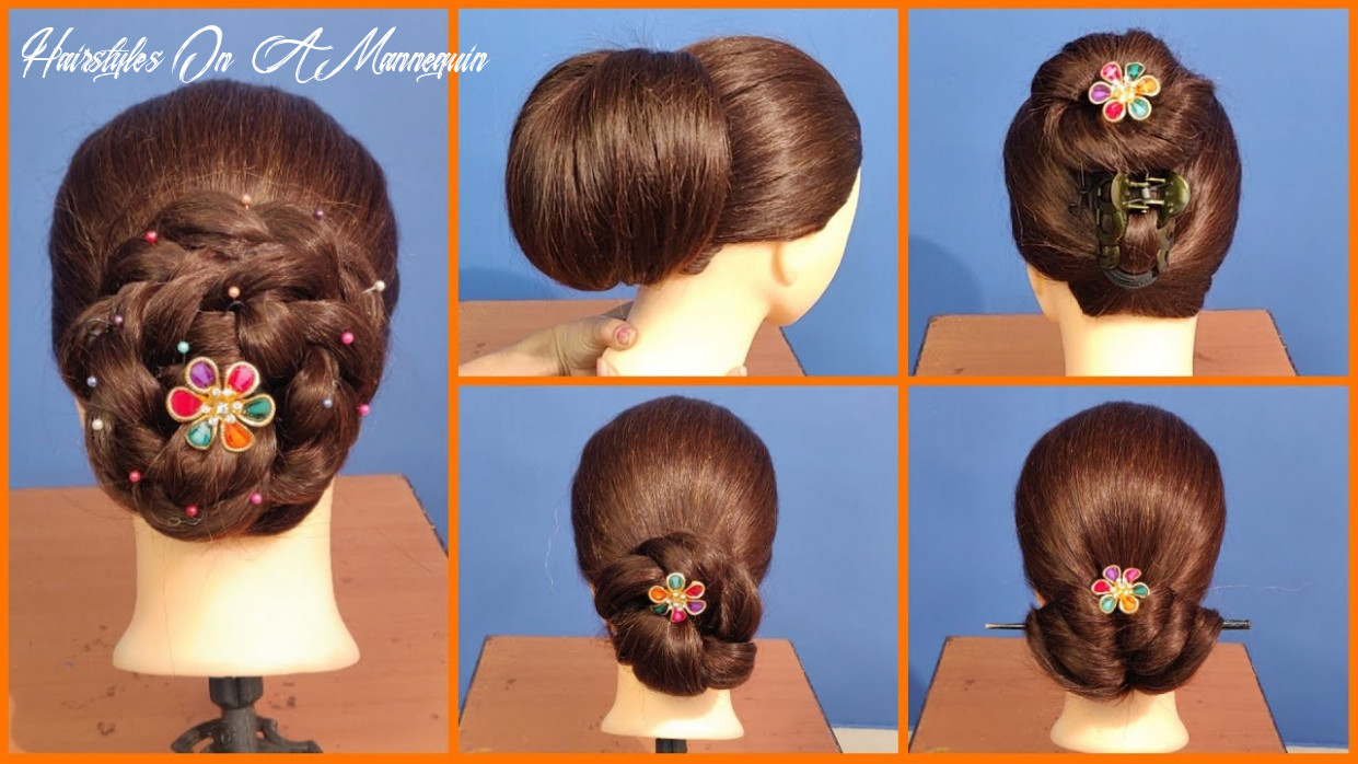 11 latest wedding, party hairstyles on mannequin head hairstyles on a mannequin