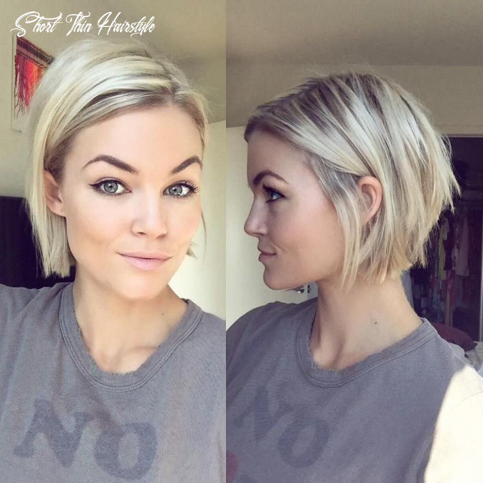 11 mind blowing short hairstyles for fine hair   short straight