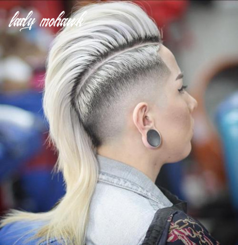 11 most gorgeous mohawk hairstyles of nowadays lady mohawk