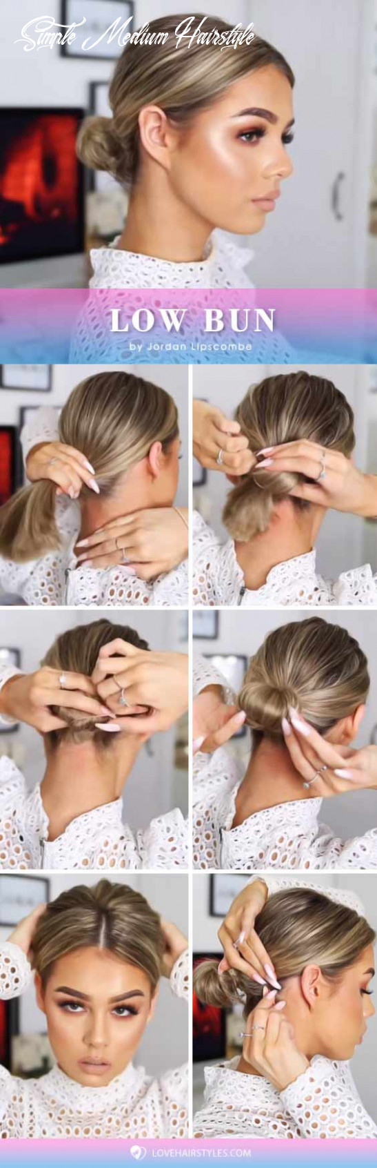 11 perfectly easy hairstyles for medium hair | lovehairstyles simple medium hairstyle