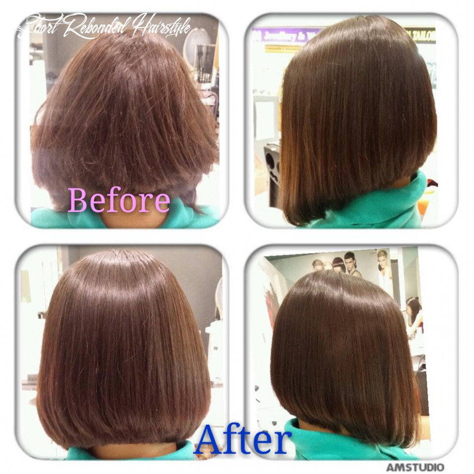 11 short hairstyles rebonded hair, charming style! short rebonded hairstyle