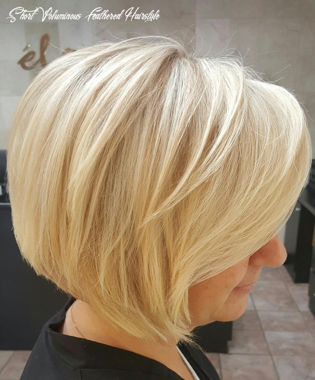 11 short layered bob hairstyles [which one is the best to choose?] short voluminous feathered hairstyle