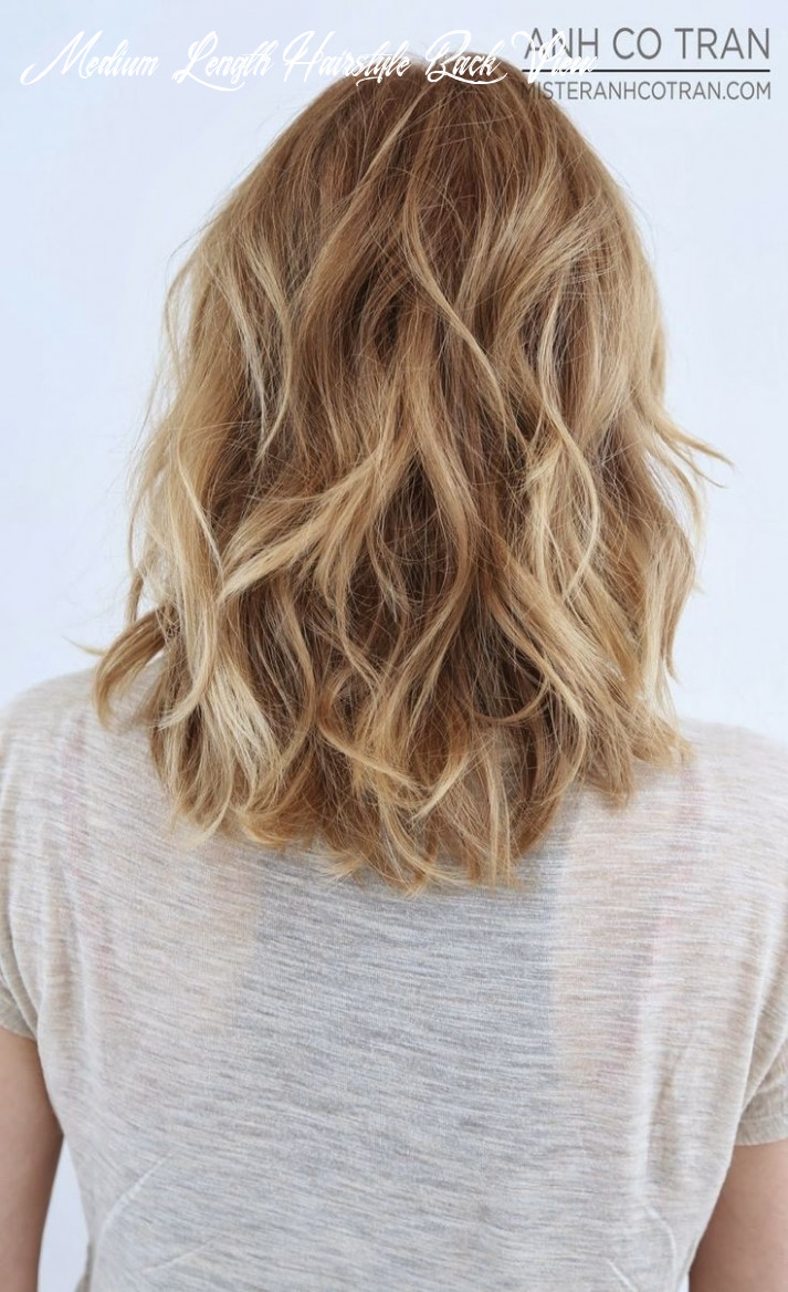11 shoulder length layered hairstyles popular haircuts medium length hairstyle back view