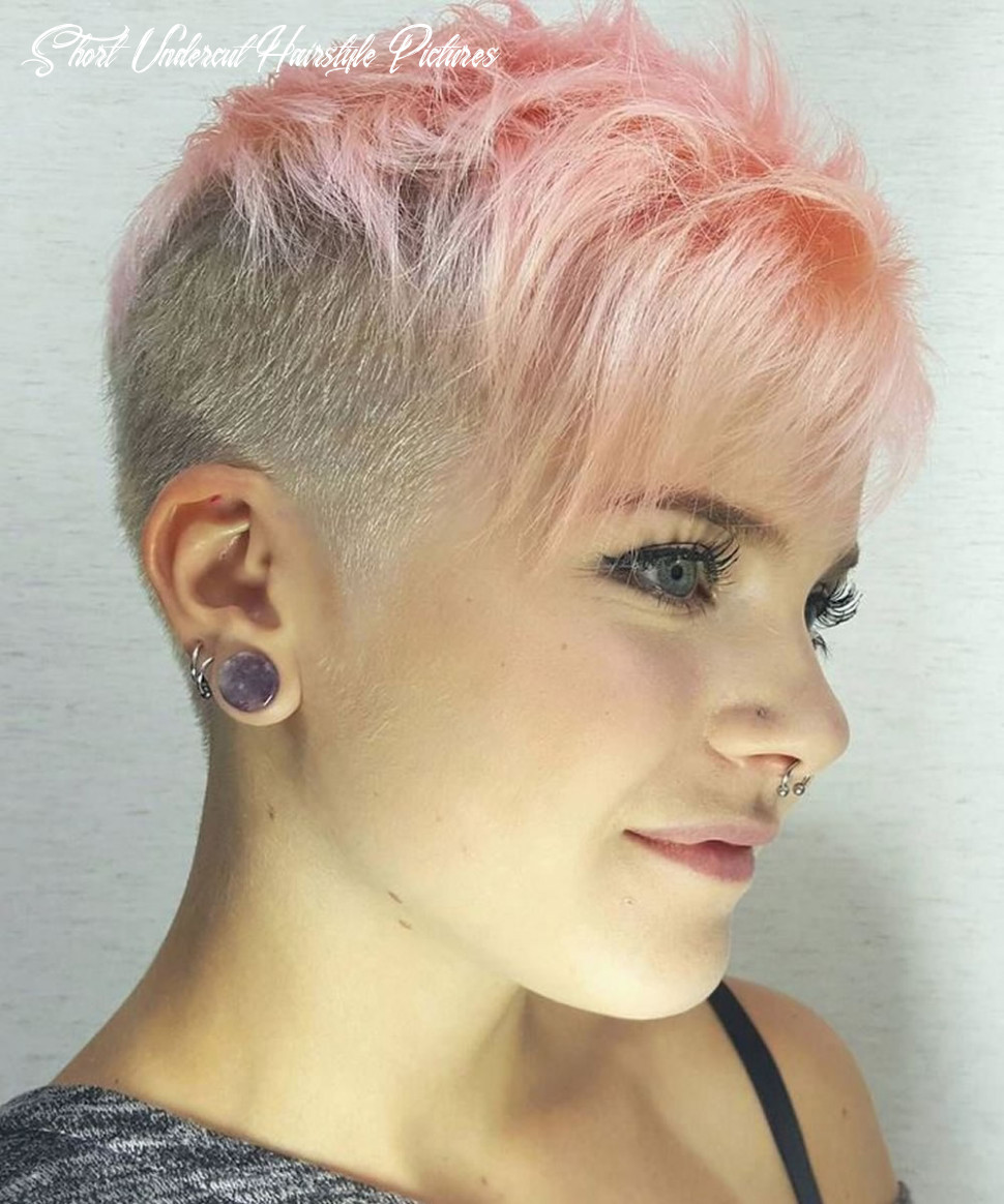 11 womens short undercut hairstyle short undercut hairstyle pictures